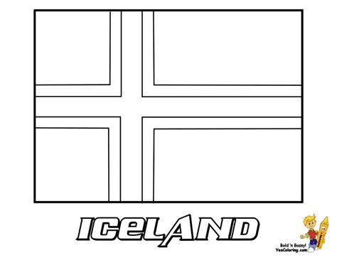 regal national flag coloring iceland luxembourg free flag pictures
