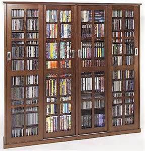 Multimedia Cabinet With Glass Doors Leslie Dame Glass 4 Door Multimedia Storage Cabinet