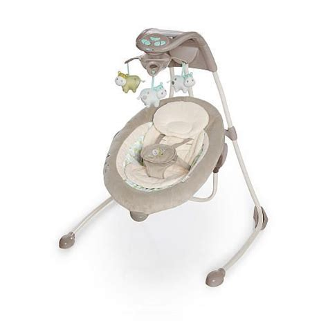 baby swing at babies r us ingenuity inlighten cradling swing emerson ingenuity