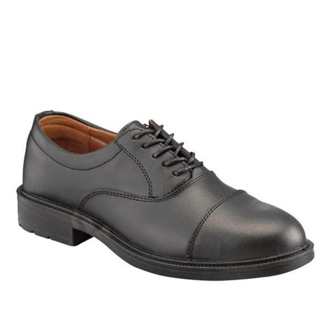 oxford safety shoes executive leather oxford safety shoe safetec direct