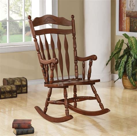 Living Room Rocking Chairs - living room rocking chairs traditional medium brown