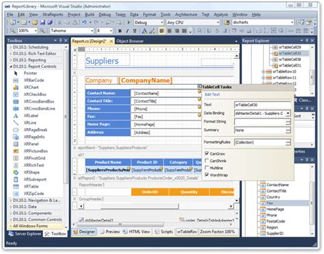 Reports Templates For Visual Studio 2010 Reports In Visual Studio 2010 Wpf Silverlight V2010