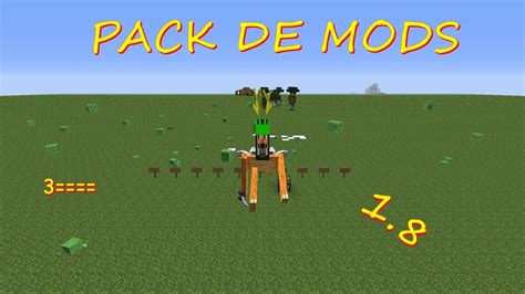 mods in minecraft for 1 8 descargar pack de mods minecraft 1 8 1 8 9 1 9 1 9 2 1 9 3