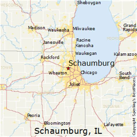 best places to live in schaumburg, illinois