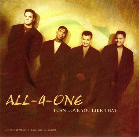 all 4 one i can you like that cd at discogs