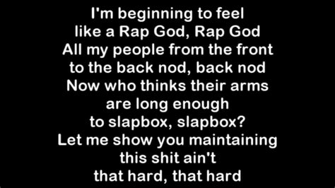 freestyle rap testi hip hop eminem has largest vocabulary in