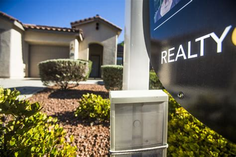 las vegas home prices move slightly lower in month