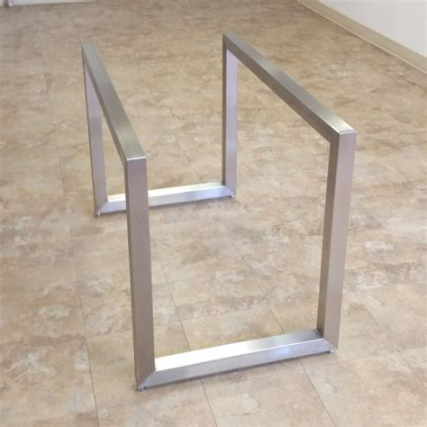 stainless steel table bases dining poseidon table bases custom metal home