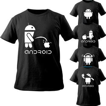 Kaos Tshirt Androit aliexpress buy android t shirt creative and