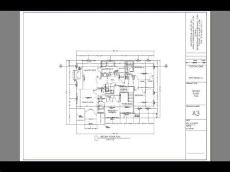 architectural design template architectural plan set sle