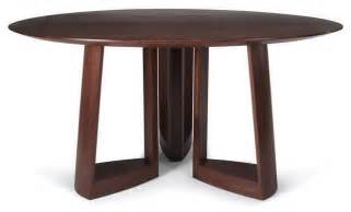 skram lineground round dining table modern dining