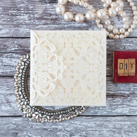 how to make luxurious laser cut invitations imagine diy