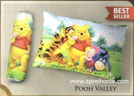 Piyama Dewasa Pooh Yellow balmut ilona jual balmut murah