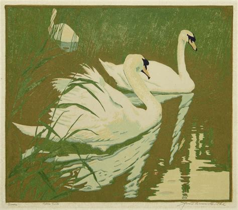 Home Decorator Catalogue swans by jessie arms botke annex galleries fine prints