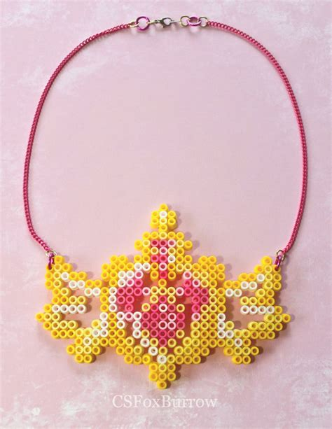 perler bead necklace 786 best images about perler bead designs on
