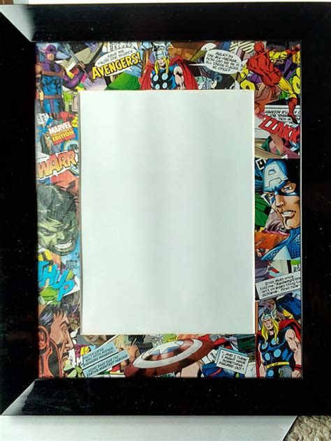 avengers photo booth layout marvel avengers picture photo frame custom superhero original