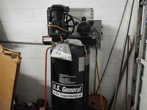 u s general 60 gal air compressor model us560v srl 8090250806