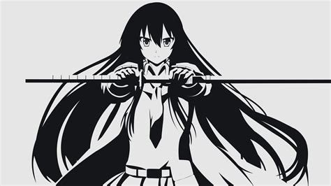 anime vector akame akame ga kill anime vectors vector