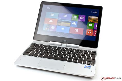 test hp elitebook revolve   convertible