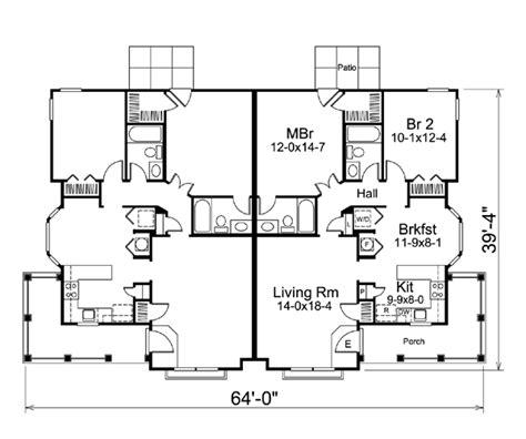 multi family plans multi family plan 95864 at familyhomeplans com