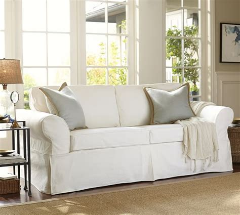 Pearce Sofa Pottery Barn by Pearce Slipcovered Sofa Pottery Barn Living Room