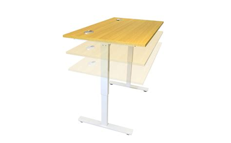 Electric Sit Stand Desk Office Furniture Solutions 4u Desk Height Adjusters