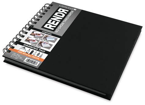 rendr sketchbook 13655 1088 crescent rendr no show thru paper blick