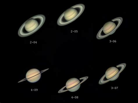 6 years of saturn astronomy magazine interactive