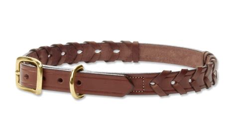 orvis collars matching collars and leashes braided leather collar and leash orvis