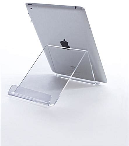 acrylic ipad desk stand adjustable countertop tablet riser