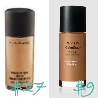 Refill Mac Studio Fix mac studio fix fluid vs revlon color stay dupes