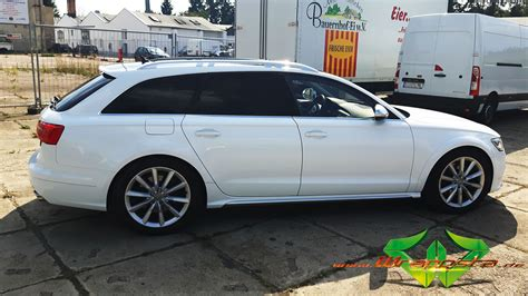 Audi A6 Wei by Audi A6 Allroad Glanz Wei 223 Wrappsta Berlin