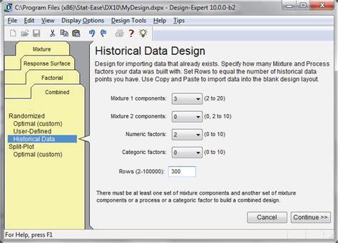 design expert rsm design expert versuchsplanung doe screening rsm