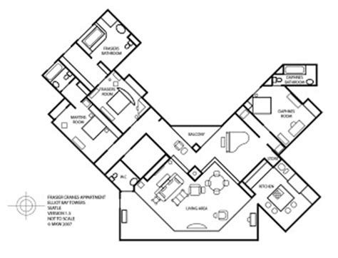 frasier crane apartment floor plan frasier afficionado floor plan of frasier s condo