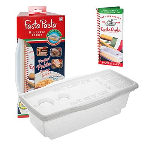 pasta boat recipe book microwave pasta cooker the original fasta pasta with
