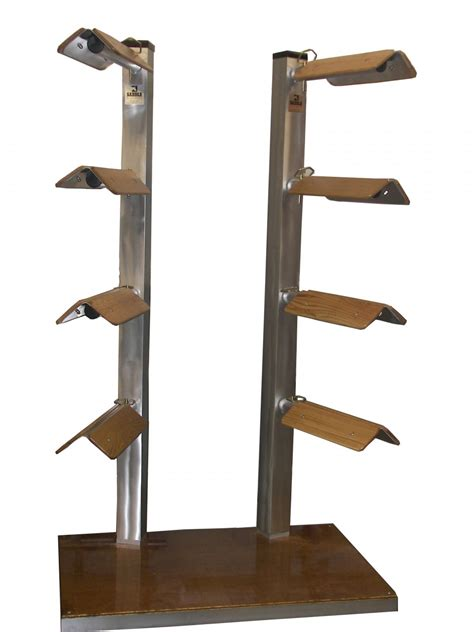 Sattle Rack saddle stackers western 8 end cap style saddle rack