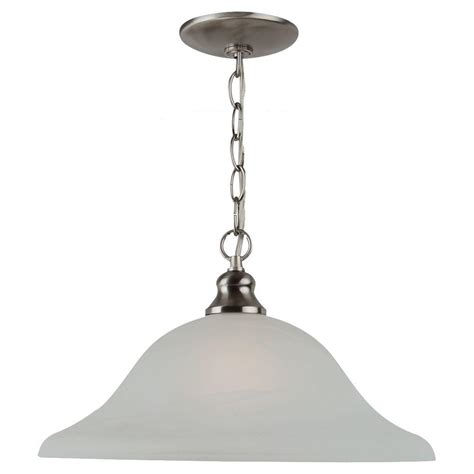 Seagull Lighting Pendant Sea Gull Lighting 1 Light Pendant With Painted Shade 6519 21 The Home Depot