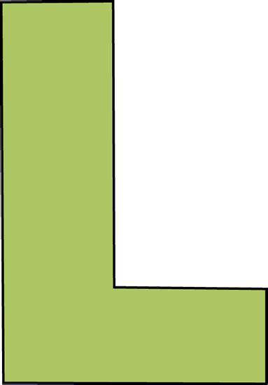green letter l clip green letter l image