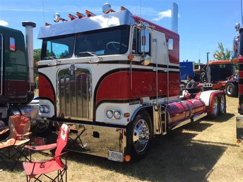 kw trucks kw cabover trucks kenworth cabover on