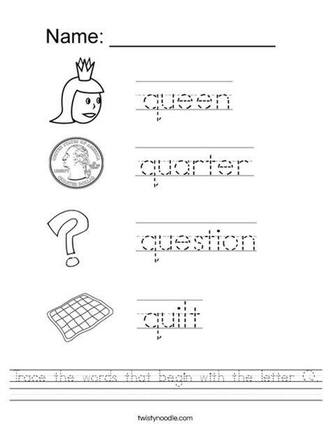 Dictionary Letter Q words that the letter q docoments ojazlink