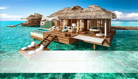 hutte royale resort resorts de luxo no caribe s 243 para casais sandals resorts
