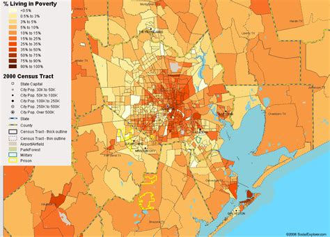 houston heat map houston income map indiana map