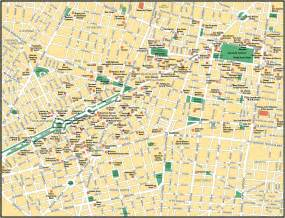 Mexico City On A Map by Map Of Mexico City Maps Of Mexico Planetolog Com