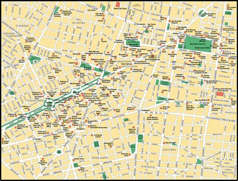 mexico city on a map mexico city map images