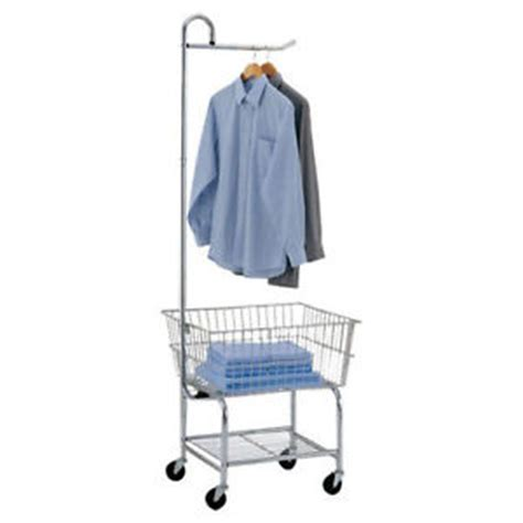 Laundry Cart With Hanging Rack by Laundry Cart With Hanging Rack Garment Commercial Metal Carts On Wheels Room Mat