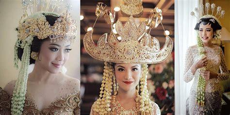 make up dan baju pengantin modern okezone week end mahkota pengantin tradisional indonesia