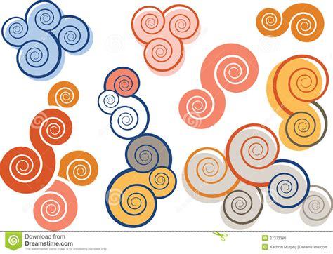 imagenes abstractas ejemplos muestras espirales abstractas foto de archivo imagen