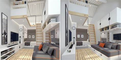 tiny house loft height small homes that use lofts to gain more floor space