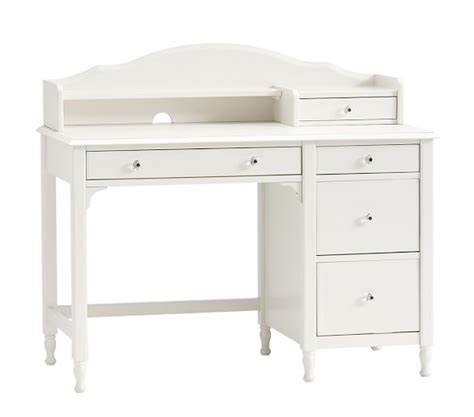 kids desks with storage juliette storage desk hutch pottery barn kids