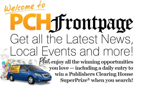 Chances Of Winning Pch - introducing pchfrontpage top news of today plus chances to win pch blog